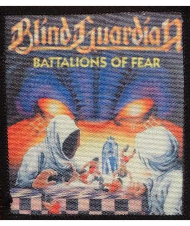 Parche BLIND GUARDIAN - Batallions Of Fear