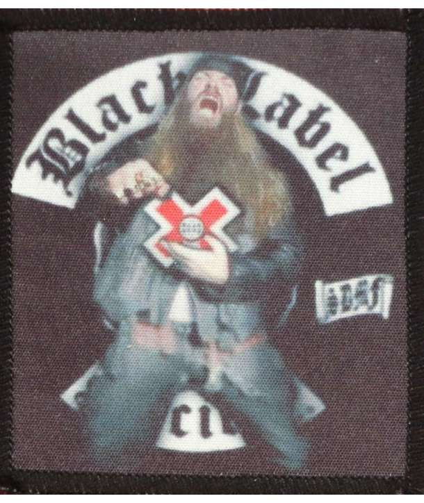 Parche BLACK LABEL SOCIETY - Zakk