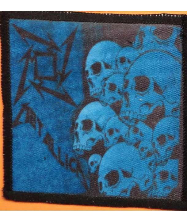 Parche METALLICA - Blue Skulls