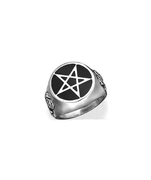 Anillo Roseus Pentagram Alchemy