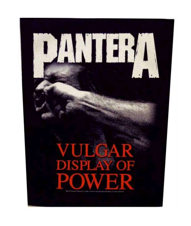 Parche para espalda PANTERA - Vulgar Display Of Power