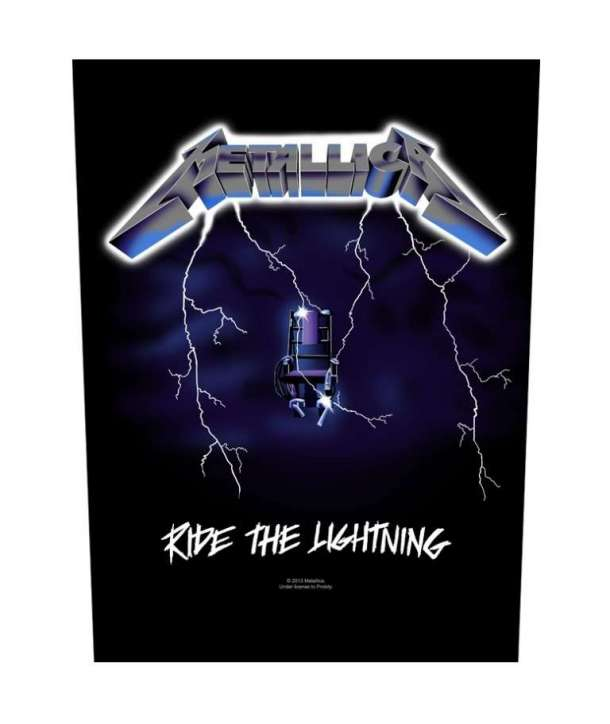 Parche para espalda METALLICA - Ride The Lightning