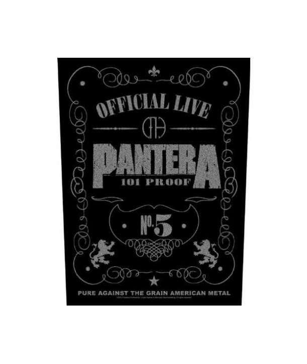 Parche para espalda PANTERA - Official Live