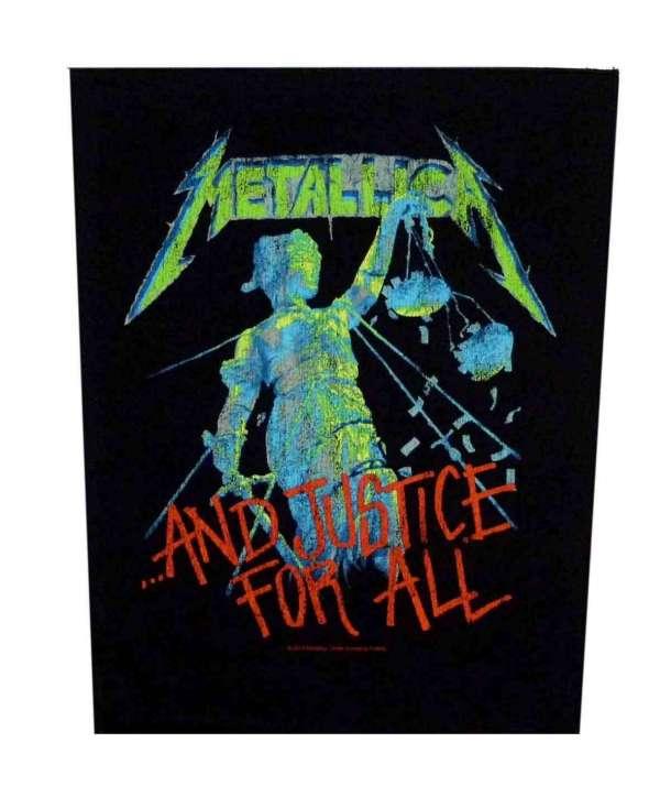Parche para espalda METALLICA - And Justice For All