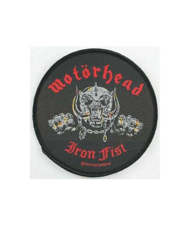 Parche MOTORHEAD - Iron Fist redondo