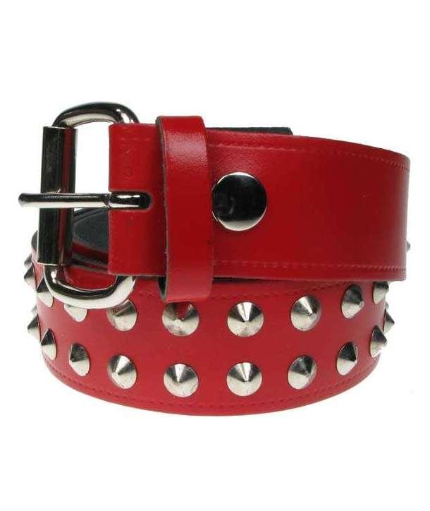 Cinturón cono 2 filas rojo