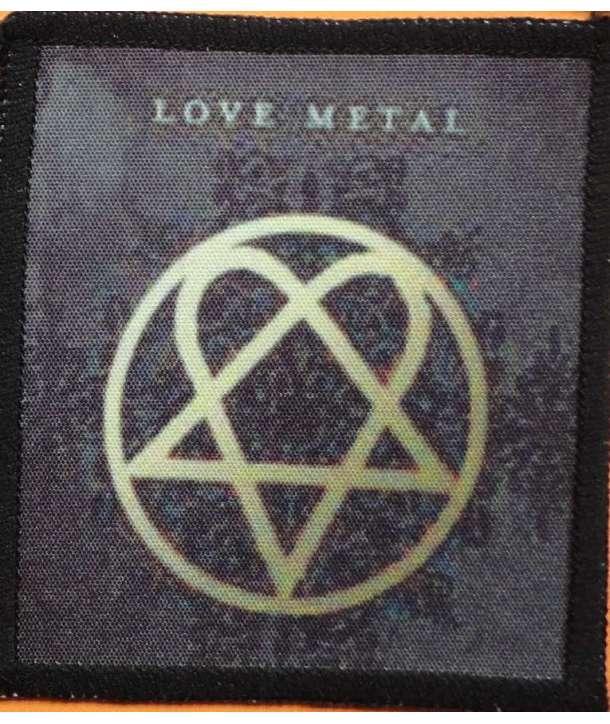 Parche HIM - Love Metal