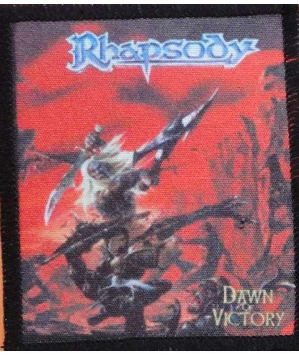 Parche RHAPSODY - Dawn Of Victory
