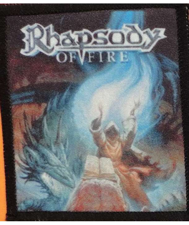 Parche RHAPSODY OF FIRE - Triumph Or Agony