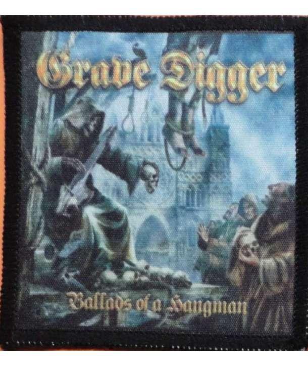 Parche GRAVE DIGGER - Ballads Of A Hangman