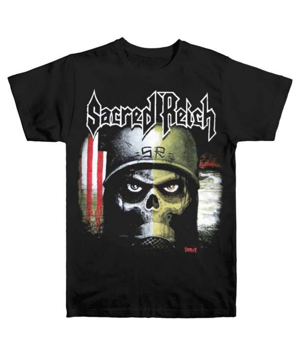 Camiseta SACRED REICH - 20 Years Of Ignorance