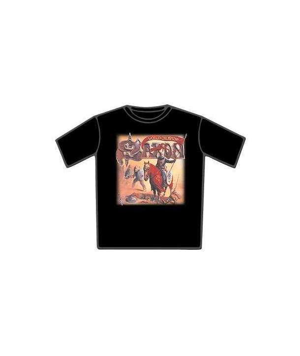 Camiseta SAXON - Crusader