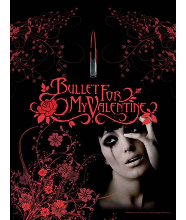 Bandera BULLET FOR MY VALENTINE   Tears Donu0027t Fall