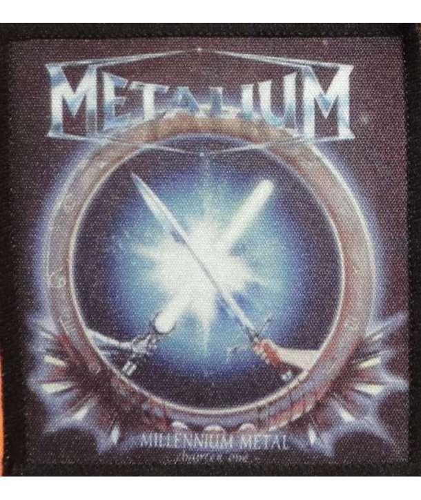 Parche METALIUM - Millenium Metal