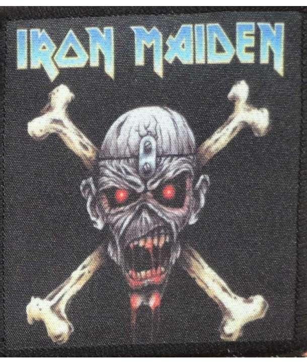 Parche IRON MAIDEN - Eddie Bones