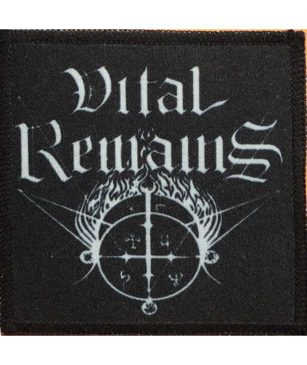 Parche VITAL REMAINS - Logo