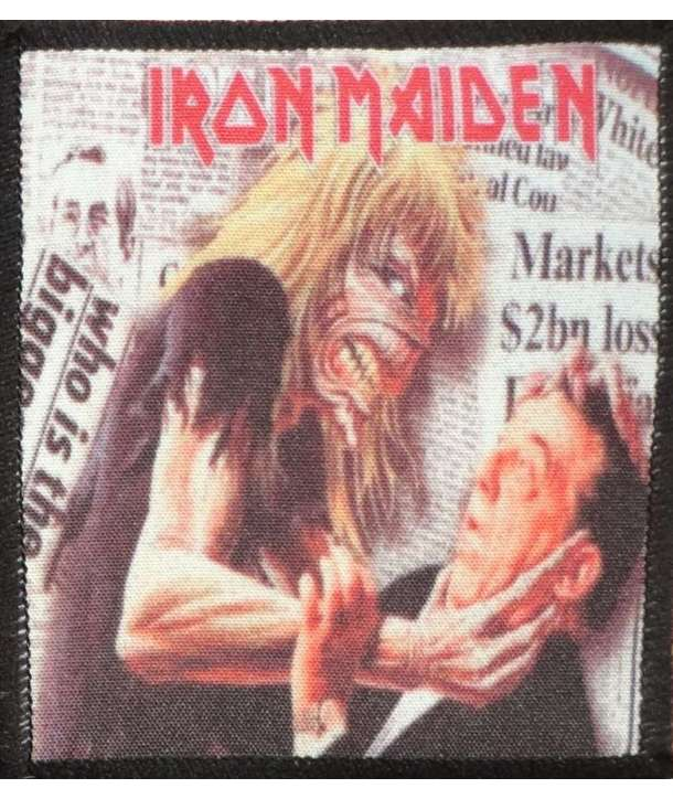 Parche IRON MAIDEN - Be quick or be dead