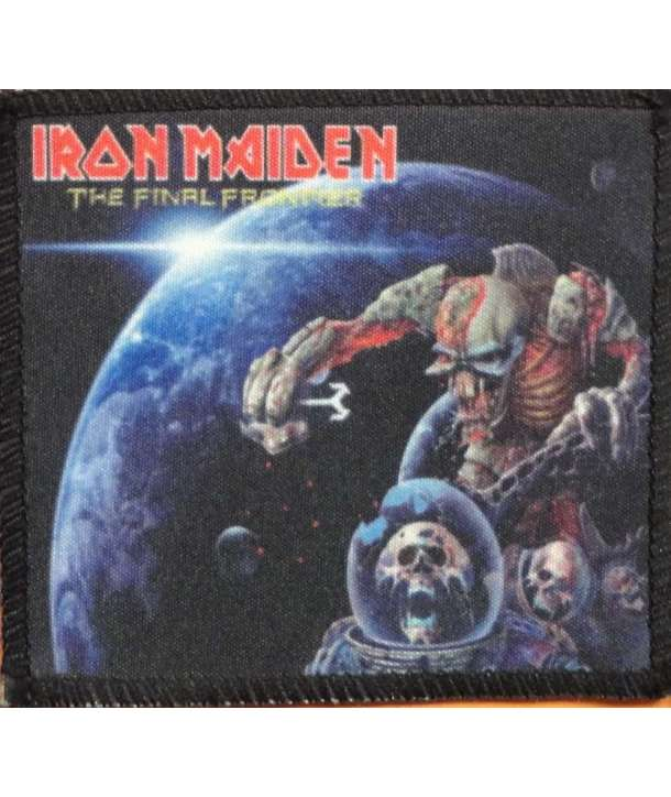 Parche IRON MAIDEN - The Final Frontier World