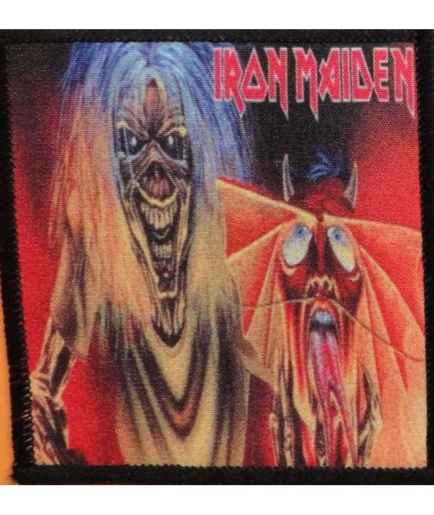 Parche IRON MAIDEN - Number Of The Beast Single