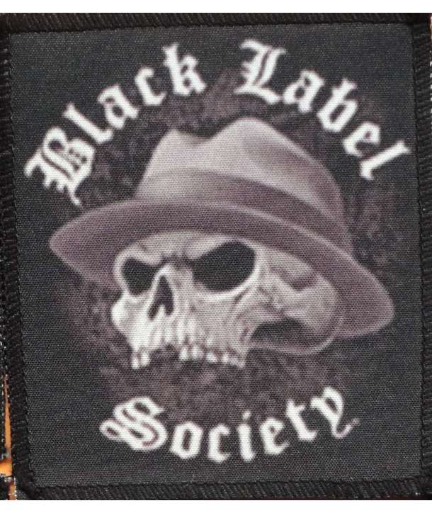 1f4084a399b32 Parche BLACK LABEL SOCIETY - Skull Hat - House of Rock