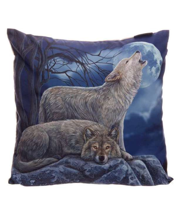 Funda para cojín Wolfs Moon