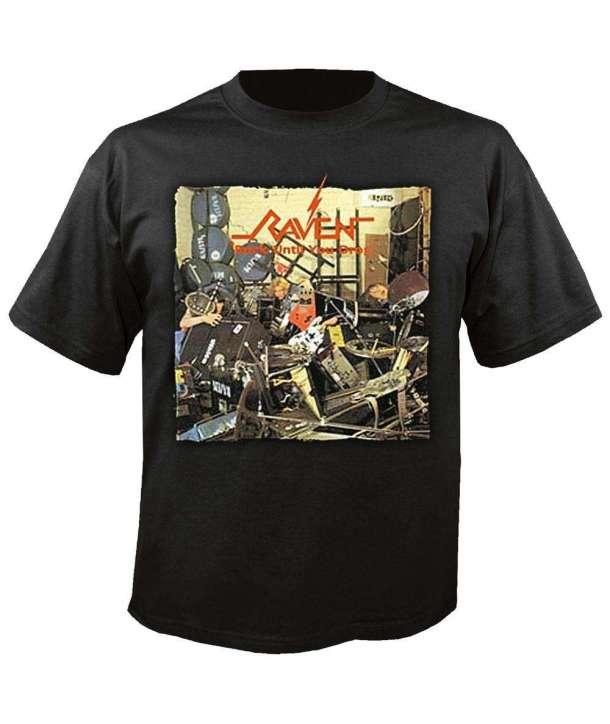 Camiseta RAVEN - Rock Until You Drop