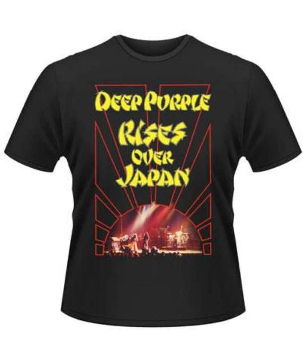 Camiseta DEEP PURPLE - Rises Over Japan