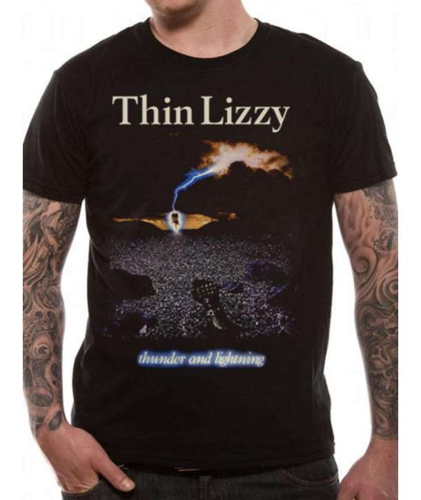 Camiseta THIN LIZZY - Thunder And Lightningg