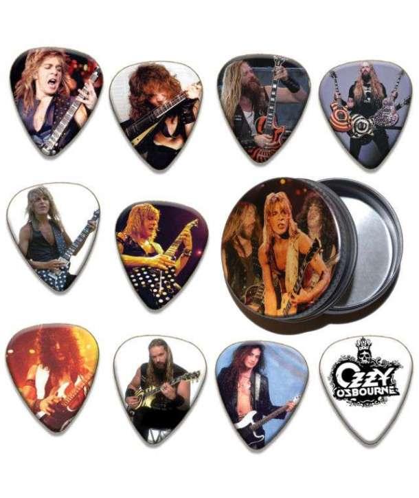 Bote con 10 púas OZZY OSBOURNE - Guitarristas
