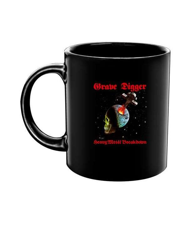 Taza GRAVE DIGGER - Heavy Metal Breakdown