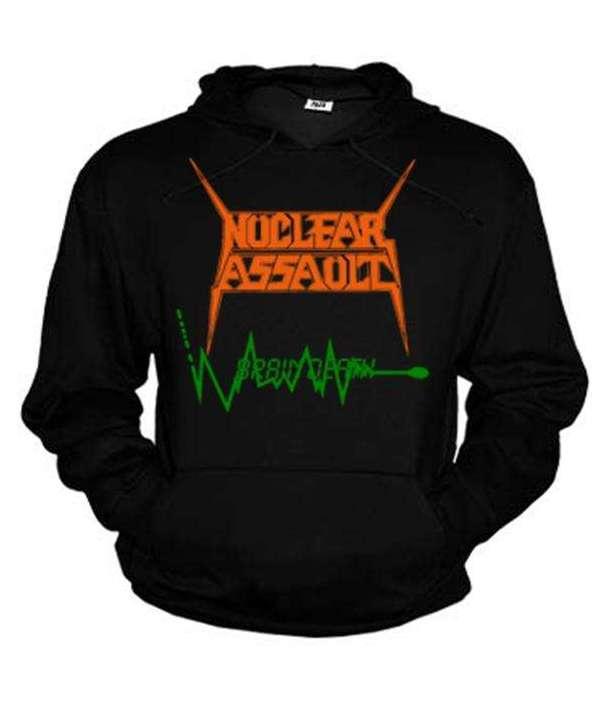 Sudadera NUCLEAR ASSAULT - Brain Death