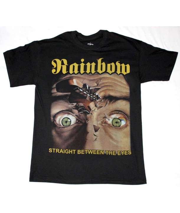 Camiseta RAINBOW - Straight Between The Eyes