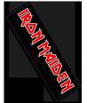 Parche alargado IRON MAIDEN - Logo