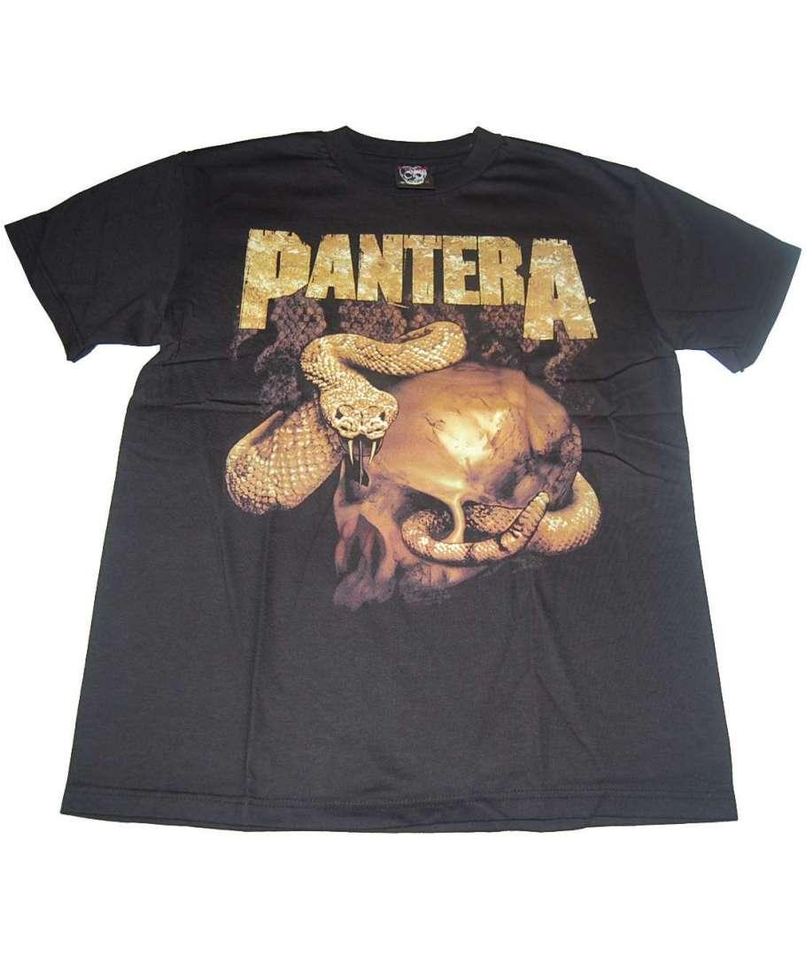 Pantera Skull And Snake Camiseta Pantera Skull And
