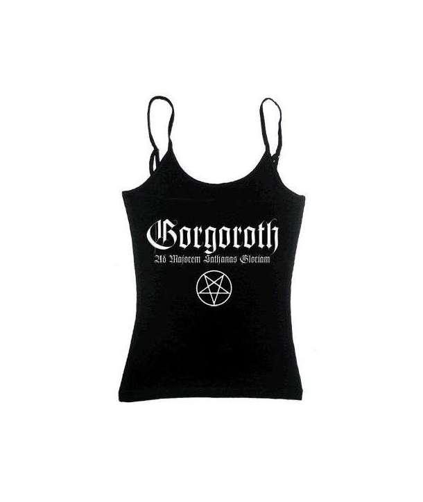 Camiseta GORGOROTH - Majorem Sathanas Tirantes Chica