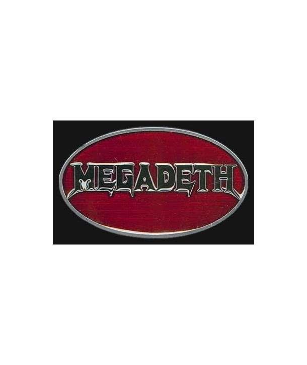 Hebilla MEGADETH - Logo Ovalada