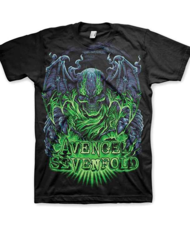 f274e967e27 Camiseta AVENGED SEVENFOLD - Dare To Die - House of Rock