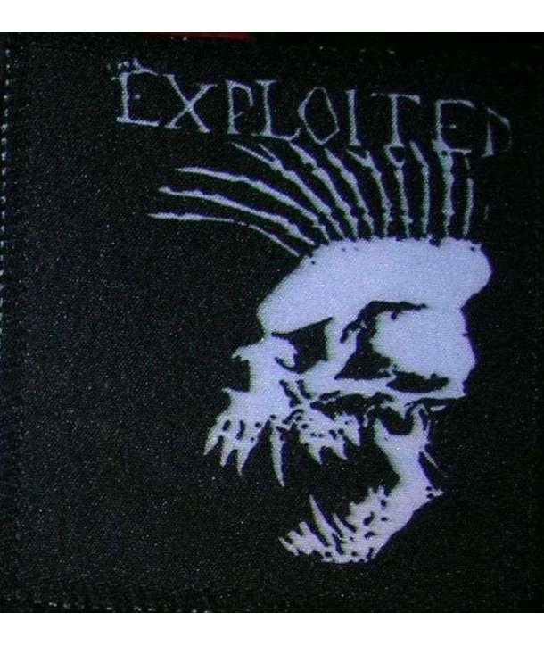 Parche EXPLOITED - Mohican Skull