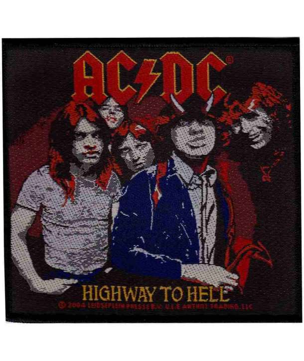Parche ACDC - Highway to Hell