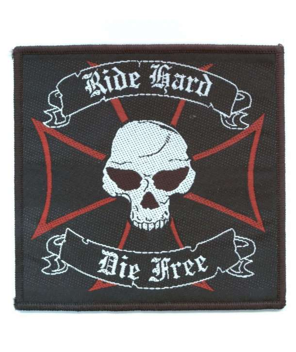 Parche RIDE HARD DIE FREE