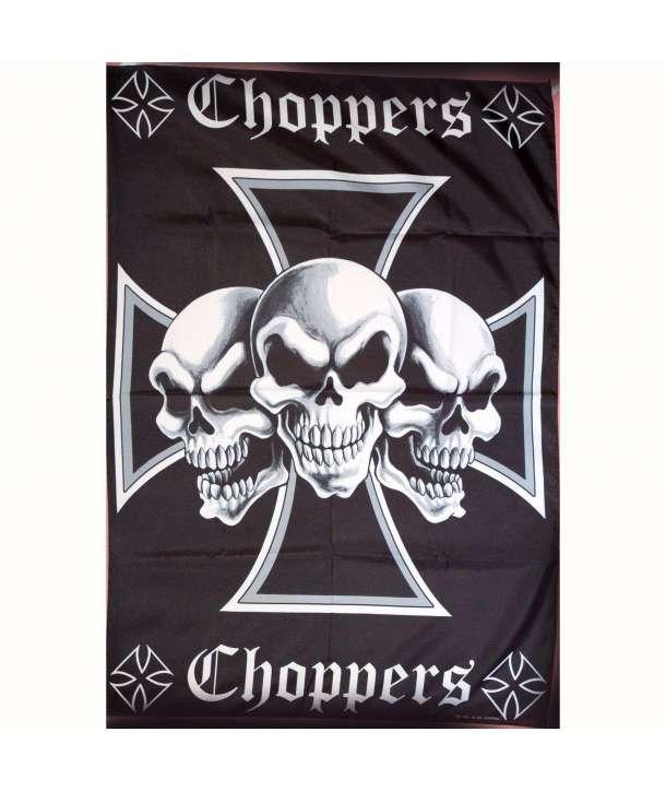 Bandera CHOPPERS - Calaveras