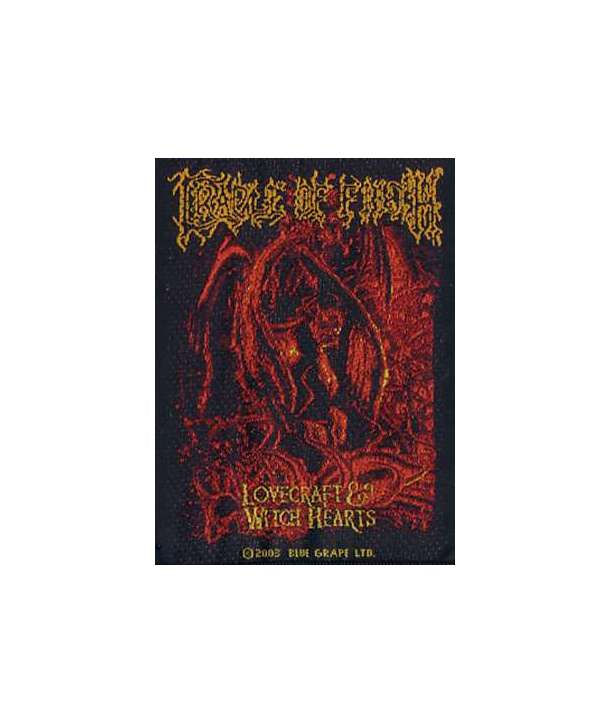 Parche CRADLE OF FILTH - Lovecraft & Witch Hearts
