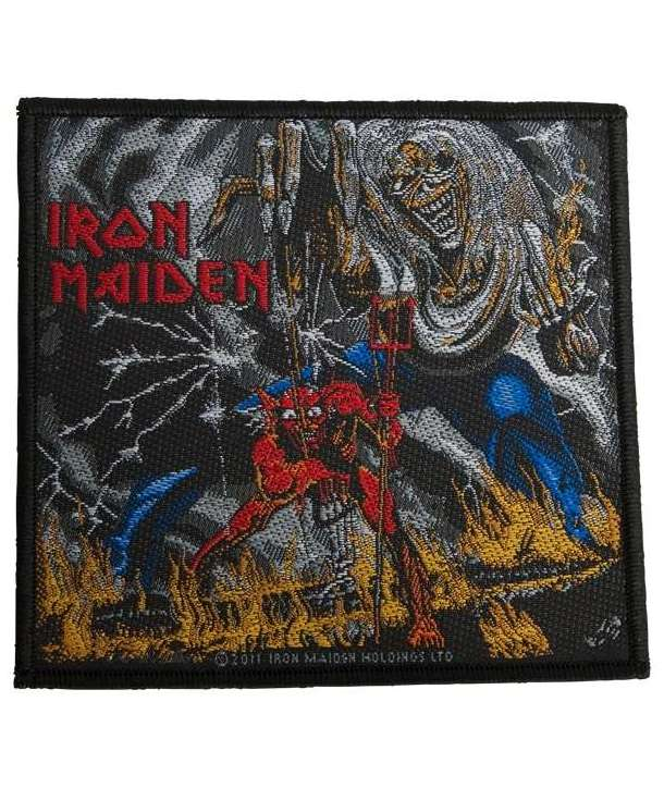 Parche IRON MAIDEN - Number Of The Beast