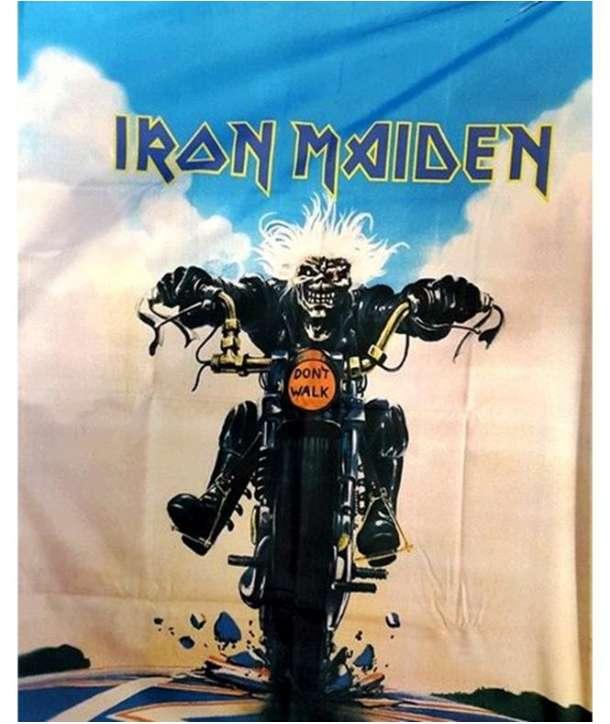 Bandera IRON MAIDEN - Moto