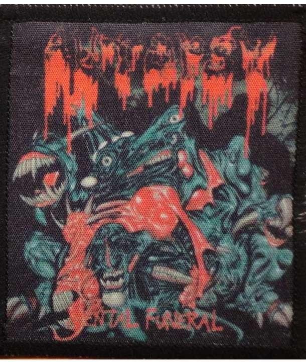 Parche AUTOPSY - Mental Funeral