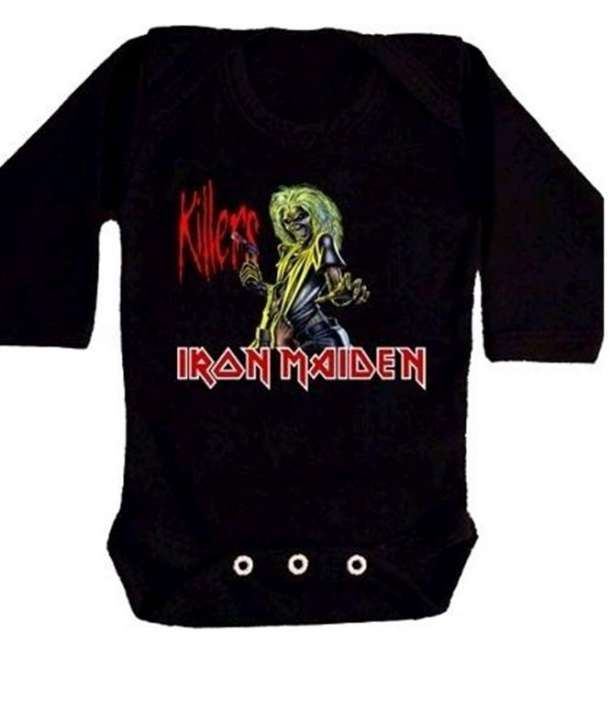 Body IRON MAIDEN - Killers Manga Larga