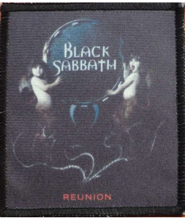 Parche BLACK SABBATH - Reunion
