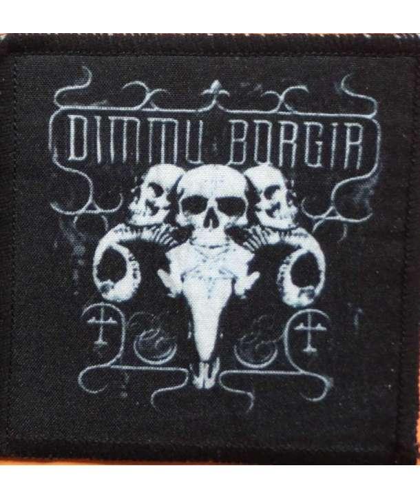 Parche DIMMU BORGIR - Skulls