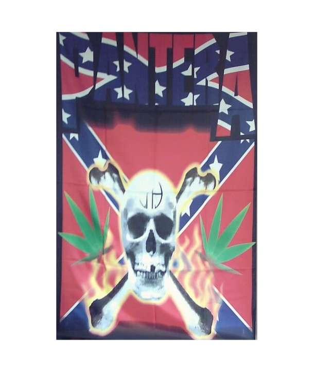Bandera PANTERA - Skull Southern
