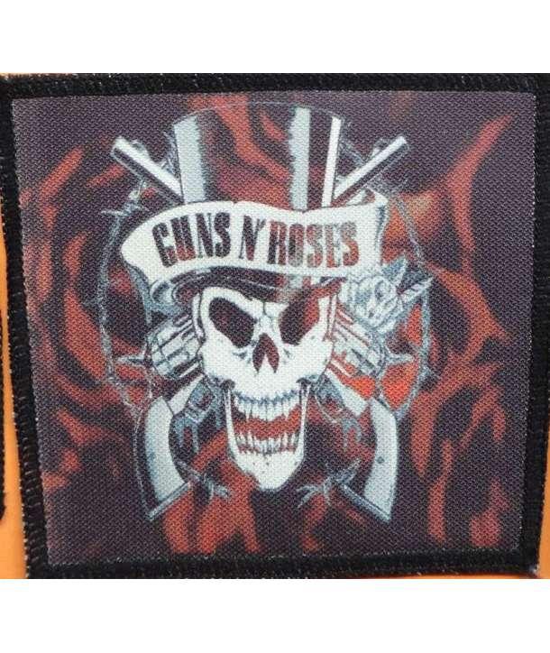 Parche GUNS N ROSES - Skull Logo Roses